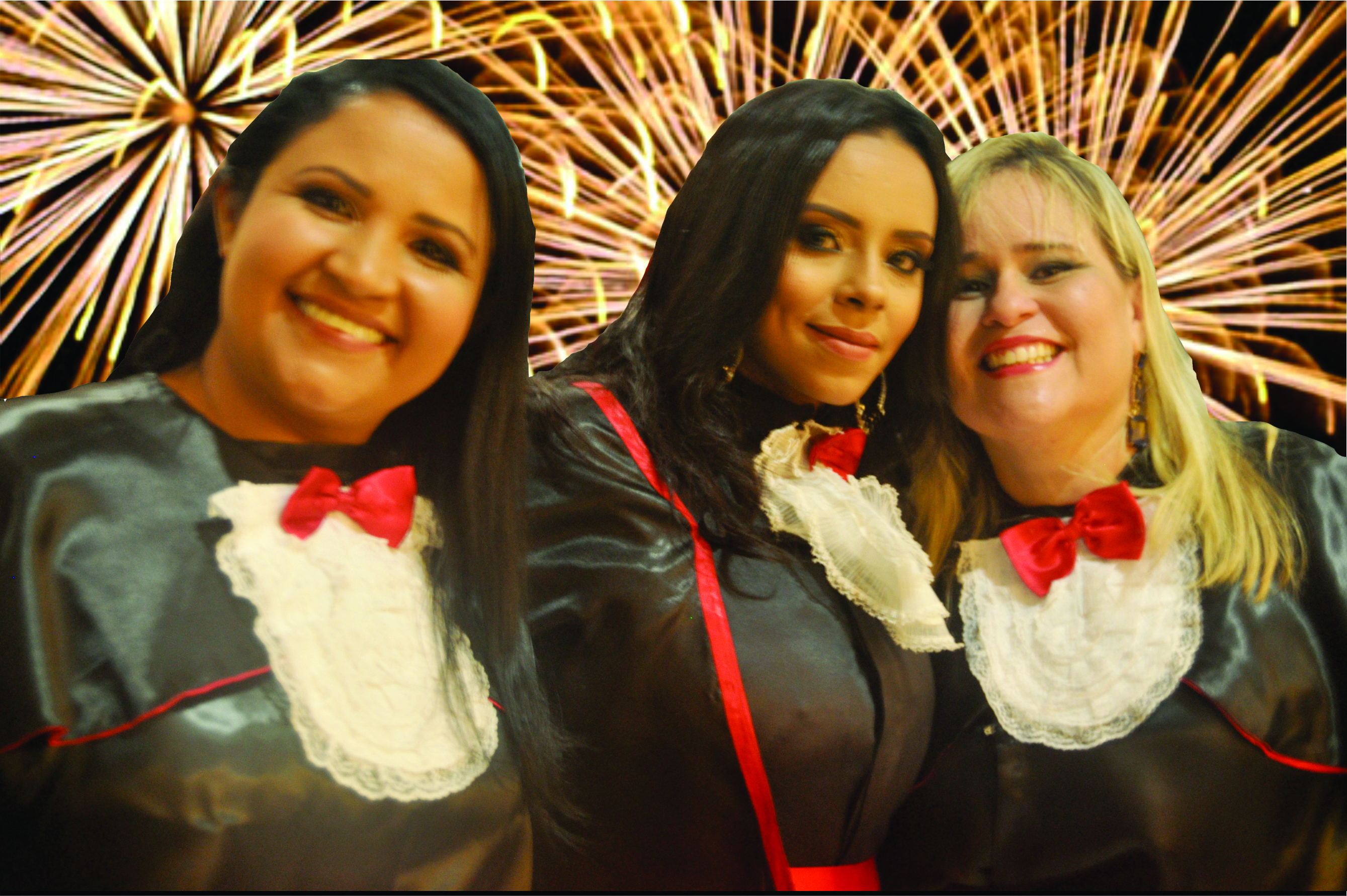 Valdirene, Glauce Camila e Graciele