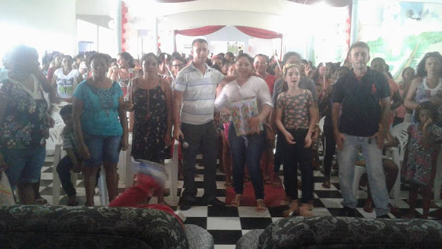 Colônia de Pescadores faz festa para mães em São João Batista