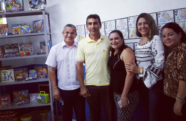 Inaugurada a primeira sala de atendimento educacional especializado em São João Batista