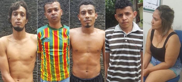 SÃO LUÍS/MA – Polícia prende quadrilha suspeita de desmanche de carros e tráfico de drogas