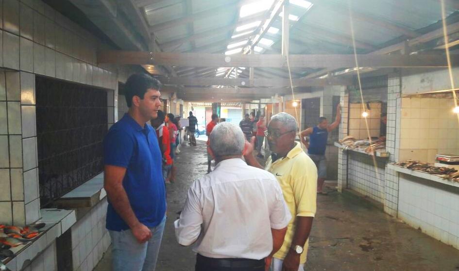 SÃO LUÍS/MA – Eduardo Braide anuncia emenda para reforma do Mercado do Anjo da Guarda