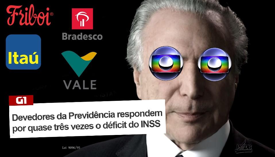 Quantia que Globo, Friboi, Itaú e grandes empresas devem ao INSS daria para dobrar valor pago por aposentadoria