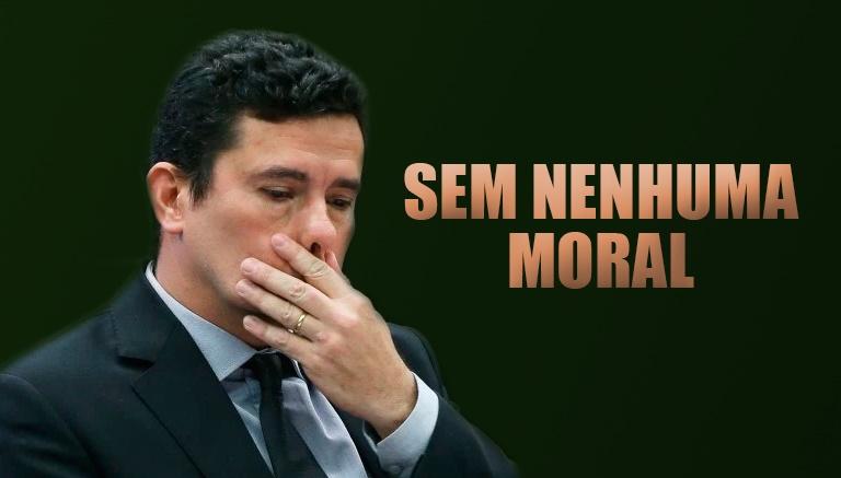 STF anulou 90 decisões de Sergio Moro ontem; juiz está desesperado e sem moral