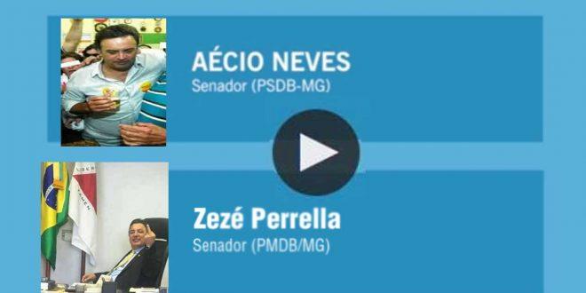 OUÇA: Grampo de Aécio com Zezé Perrella dono do helicóptero de 450 kg de cocaína em conversas nada republicanas