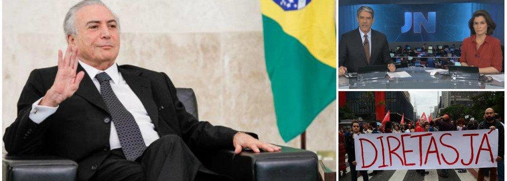 COM ELEIÇÃO INDIRETA, GLOBO FARÁ SUCESSOR DE MICHEL TEMER