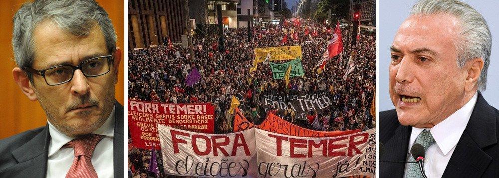 TEMER USA PERÍCIA DA FOLHA PARA RESISTIR, CONTRA 92% DOS BRASILEIROS