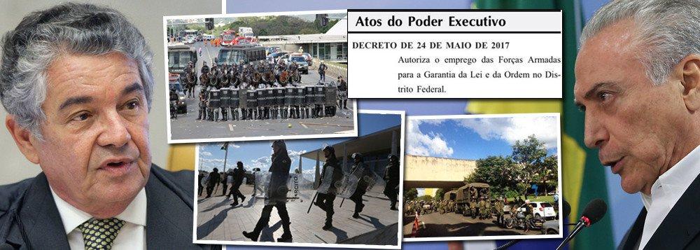 MARCO AURÉLIO INTERROMPE SESSÃO DO STF AO SABER DA DITADURA TEMER