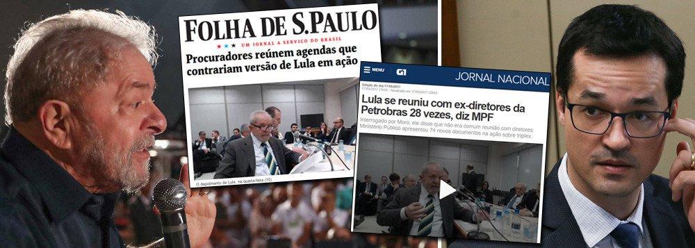 LULA APONTA FARSA DA LAVA JATO EM CONLUIO COM A MÍDIA