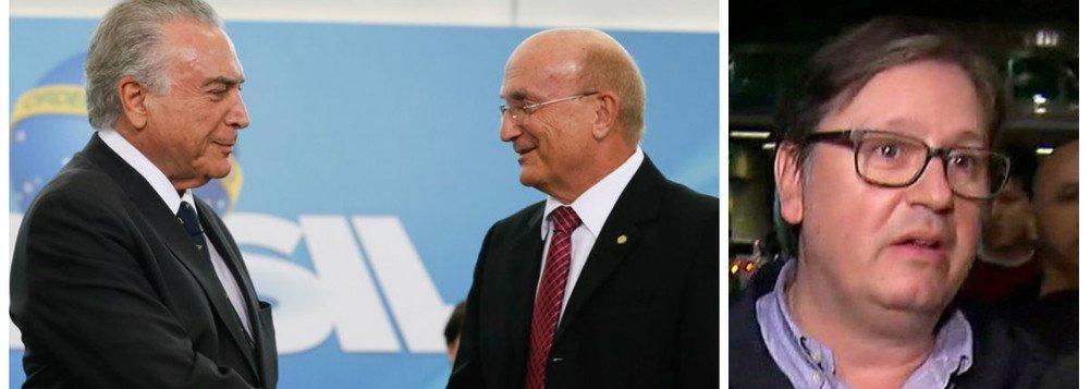 TEMER DEMITE MINISTRO DA JUSTIÇA ÀS VÉSPERAS DA DELAÇÃO DE ROCHA LOURES