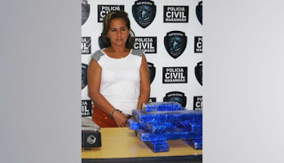 Mulher é presa transportando droga de Goiás para São Luis