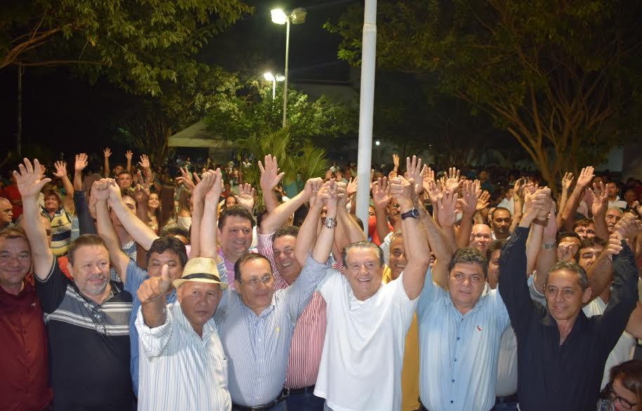 TUNTUM/MA -Tema reúne políticos de todas as regiões no lançamento da pré-candidatura de Zé Reinaldo ao Senado