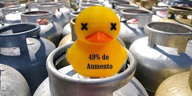 Desde que Temer e PSDB assumiram, preço do botijão de gás sobe até 49%