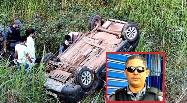 LAGO DA PEDRA/MA – Policial Militar morre em acidente de carro.
