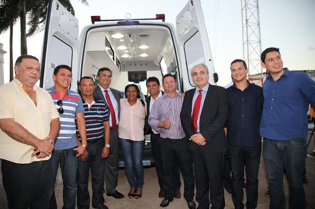 SÃO VICENTE FERRER/MA – Conceição recebe nova ambulância para a população e vê avanços na saúde