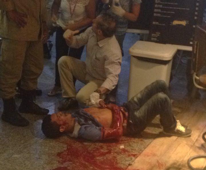 SÃO LUÍS/MA – Funcionário dos Correios e assaltantes trocam tiros no Aeroporto Cunha Machado