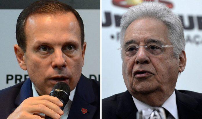 Tucanos em GUERRA: João Doria bate boca com FHC.