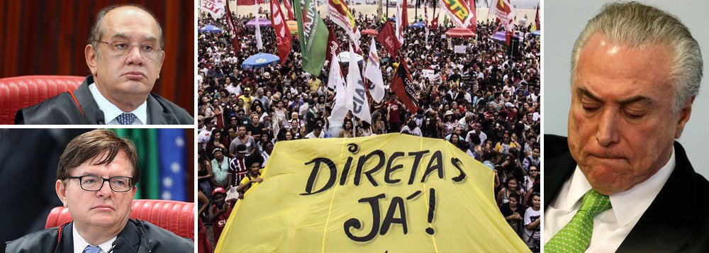 79,6% DOS BRASILEIROS QUEREM QUE TSE CASSE TEMER