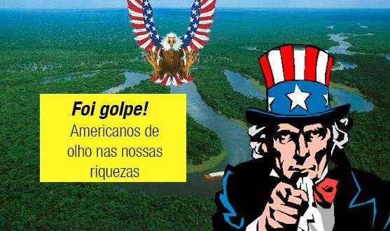 Americanos querem tomar reservas de gás xisto dos rios brasileiros