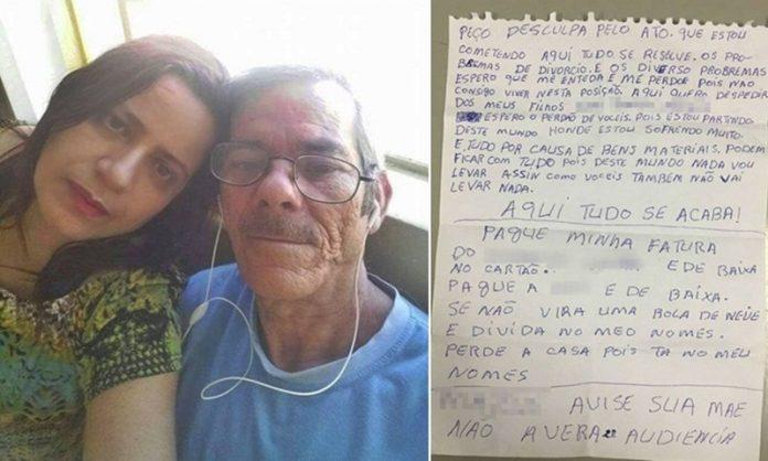 Homem mata ex-mulher, comete suicídio e deixa bilhete com pedido de ajuda: 'Pague minha fatura'