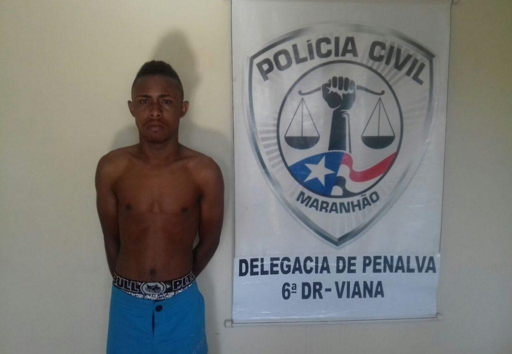 Homem é preso por roubo qualificado na cidade de Penalva