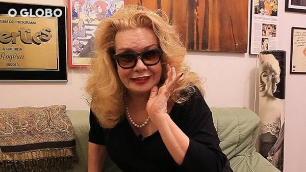 RIO –Estado de saúde da atriz Rogéria ainda é grave, diz o empresário.