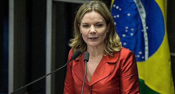 Presidente do PT, Senadora Gleisi Hoffman estará no próximo sábado(22) em São Luís.