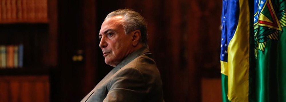 TEMER É O PRESIDENTE-FANTASMA DE UM TREM-FANTASMA CHAMADO BRASIL