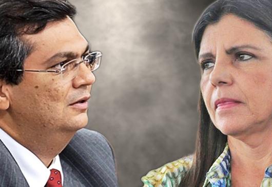 O duelo entre Roseana Sarney e Flávio Dino em 2018