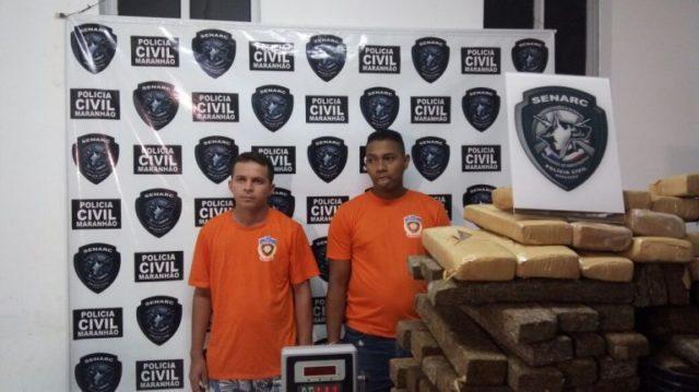 Polícia apreende R$ 1,5 milhão de drogas armazenada em Paço do Lumiar