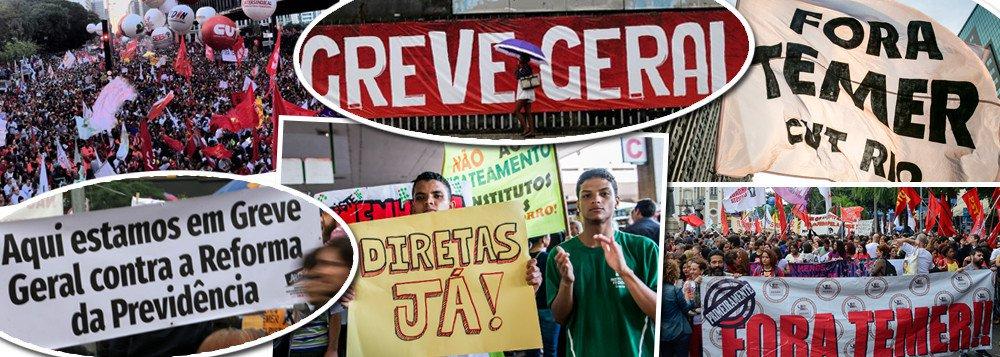 CENTRAIS CONVOCAM GREVE GERAL CONTRA REFORMA DA PREVIDÊNCIA