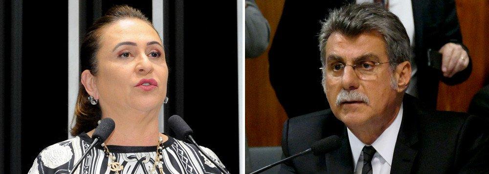 KÁTIA DISPARA CONTRA JUCÁ: 'CANALHA, CRÁPULA DO BRASIL'