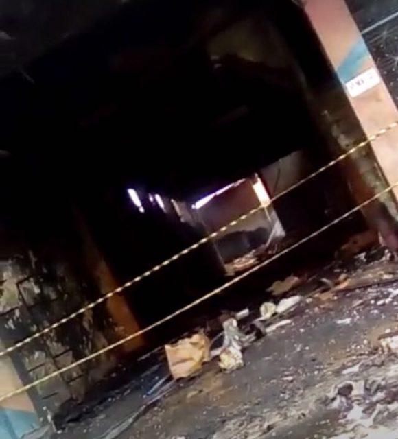 INCÊNDIO: Além do dono da loja, apareceu o corpo de outro homem carbonizado na casa de fogos em São Luís