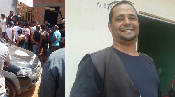 Homem que trabalha como segurança particular é assassinado na porta de casa na cidade de Rosário.