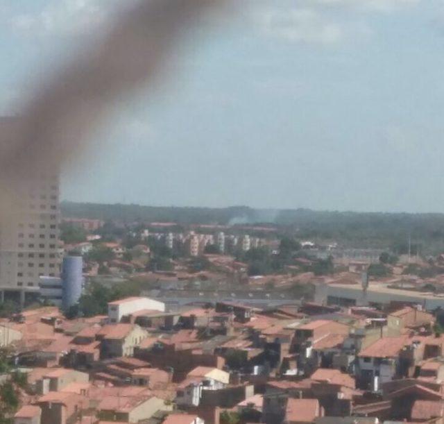 Explosão em turbina de avião causa pânico entre passageiros e moradores do São Cristóvão e Cidade Operaria