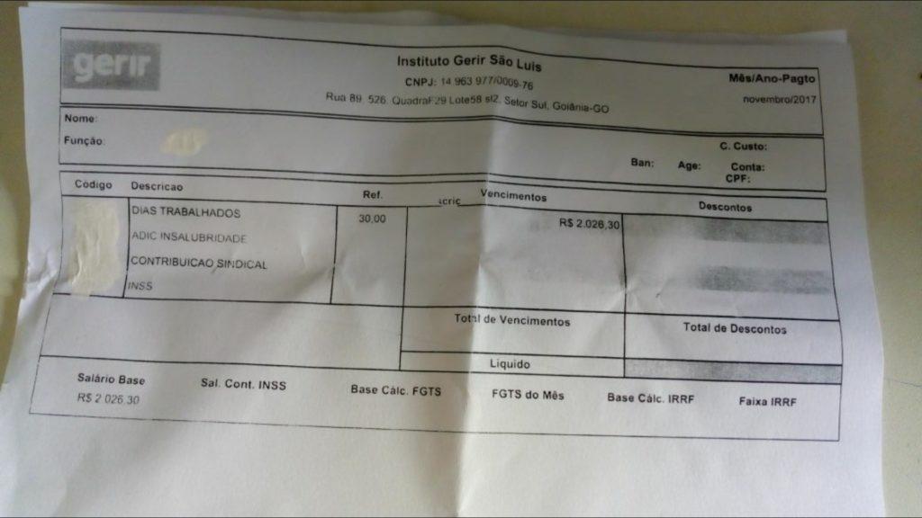 MARANHÃO – Servidores do HTO/Clínica Eldorado denunciam corte ilegal de salários