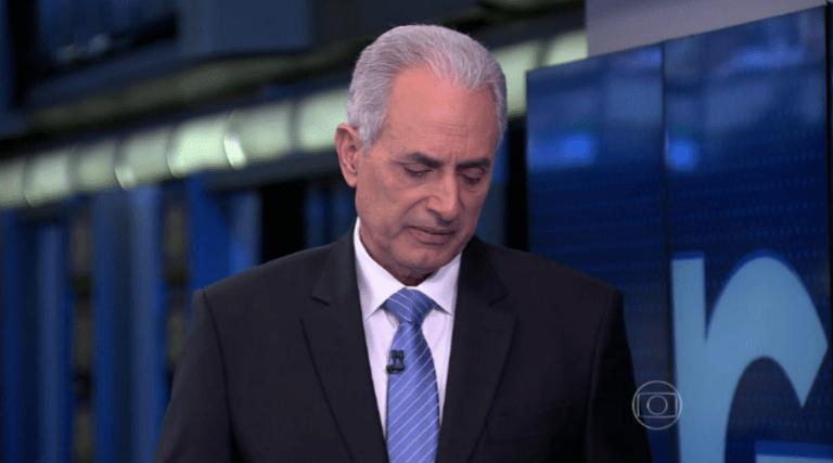 URGENTE! Globo demite Willian Waack em definitivo; LEIA COMUNICADO!