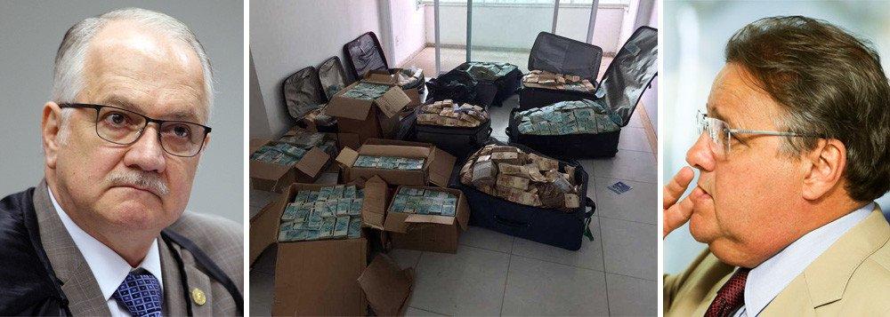 FACHIN NEGA A GEDDEL ACESSO PARA DESCOBRIR QUEM ENTREGOU O BUNKER DOS R$ 51 MI