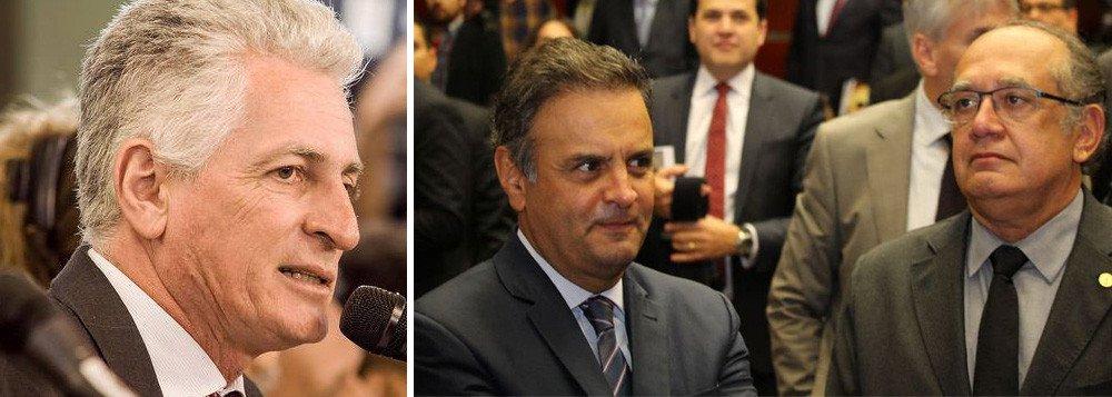 ROGÉRIO CORREIA ACIONA PGR E PEDE SUSPEIÇÃO DE GILMAR NO JULGAMENTO DE AÉCIO