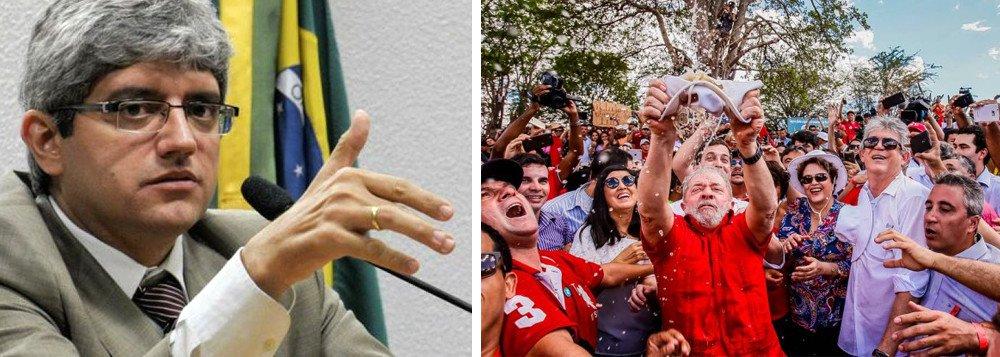 """LUIZ MOREIRA: """"QUAL É A PROVA CONTRA LULA? TEM ALGUMA MALA, UM RECIBO?"""""""