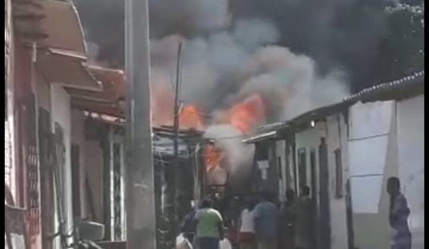 SÃO LUÍS/MA – Incêndio misterioso apavora moradores da Fé em Deus