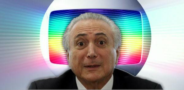 Temer teve encontro secreto com donos da Globo para comprar apoio da emissora