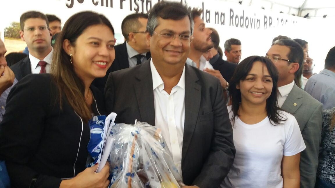 SÃO LUÍS/MA – FERNANDA GONÇALO PARTICIPOU DA CERIMÔNIA DE INAUGURAÇÃO DA PRIMEIRA FASE DA DUPLICAÇÃO DA BR – 135 DA ESTIVA À BACABEIRA.
