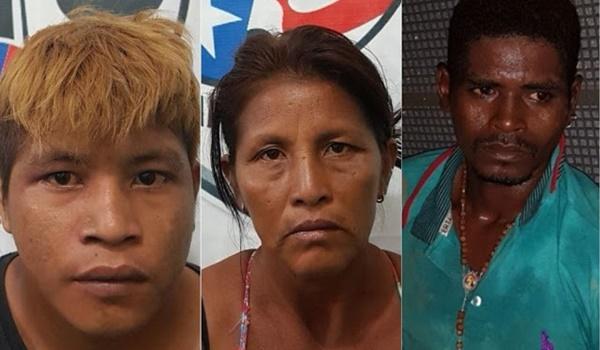 Policiais prenderam índios que faziam assaltos na BR-226, em Barra do Corda.