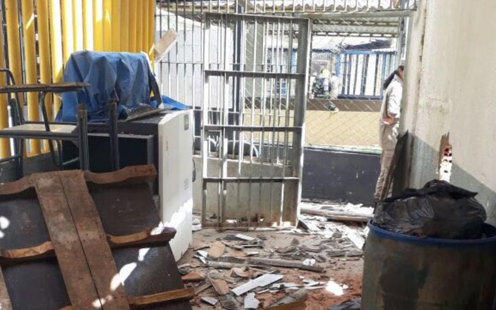 APARECIDA DE GOIANIA/GO – Rebelião deixa mortos e feridos em presídio