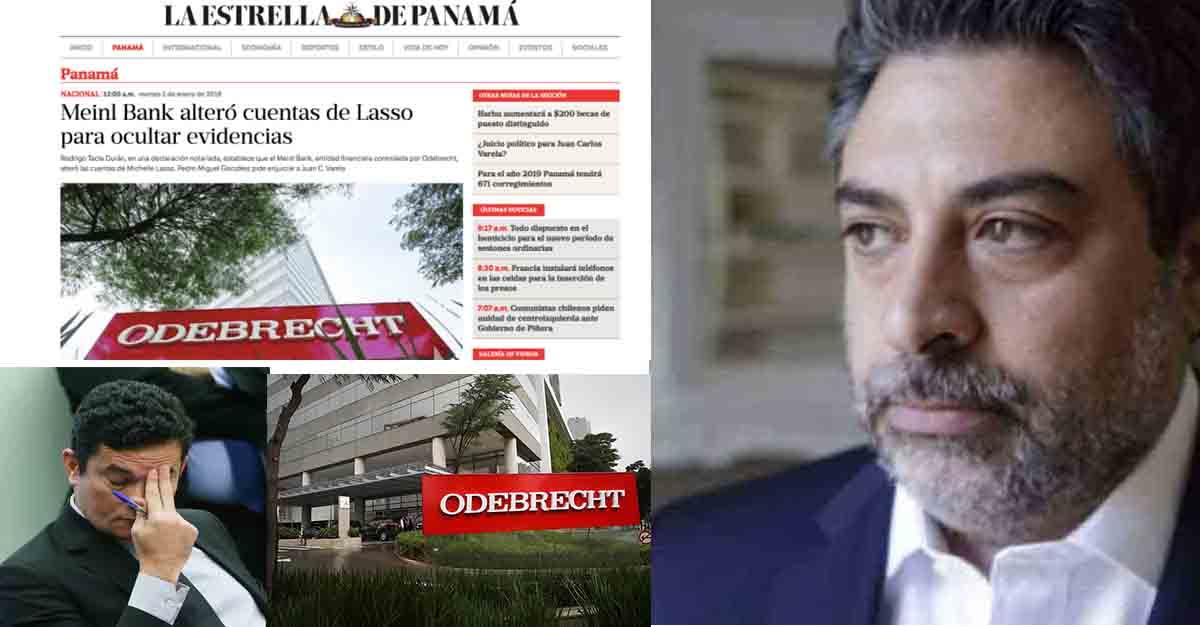 Jornal do Panamá diz que Durán tem provas de falsificação de provas da Odebrecht na Lava Jato