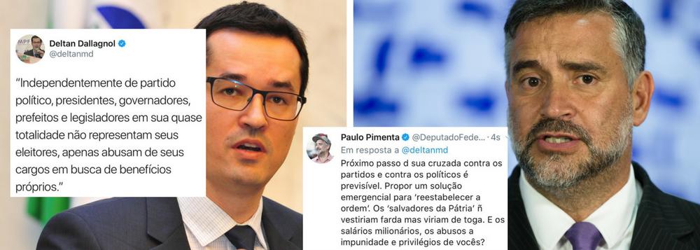 DALLAGNOL ATACA TODA CLASSE POLÍTICA E LEVA TROCO DE PIMENTA