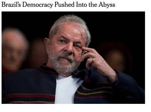 NEW YORK TIMES: PARTIDÁRIO, MORO JOGOU A DEMOCRACIA BRASILEIRA NO ABISMO