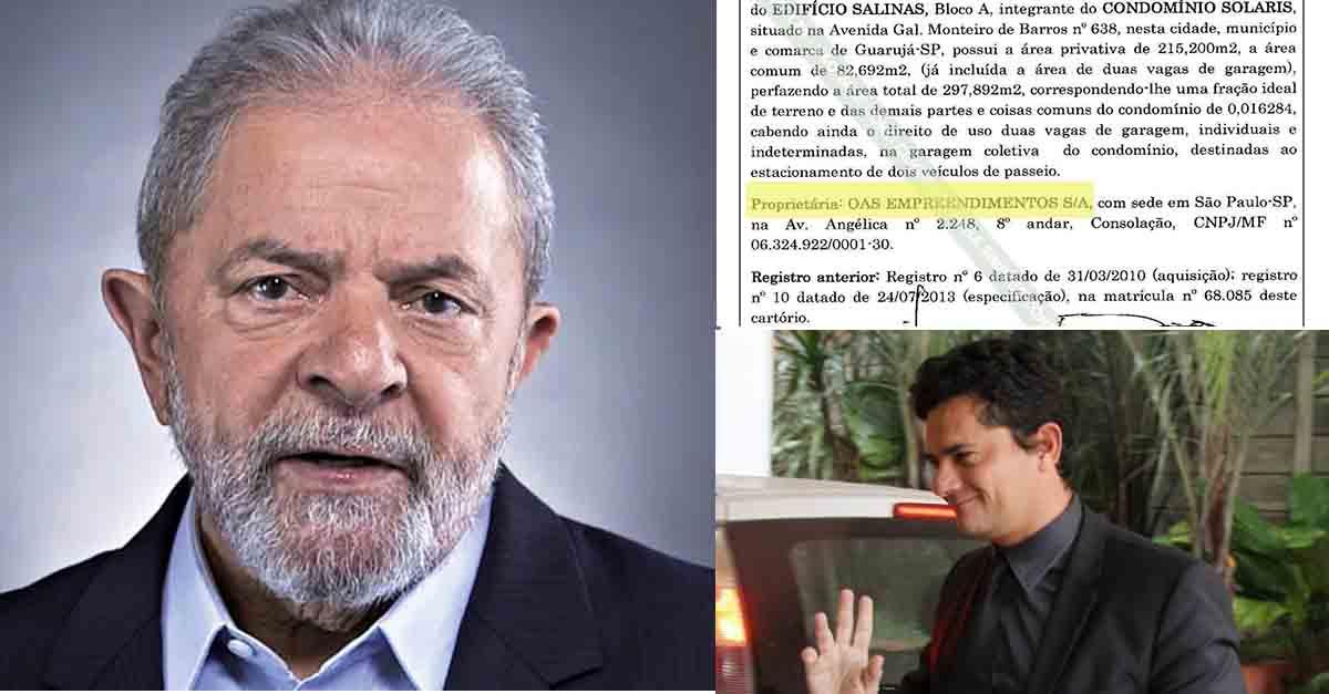 Documentos autenticados mostram o verdadeiro dono do Tripléx…e não é Lula