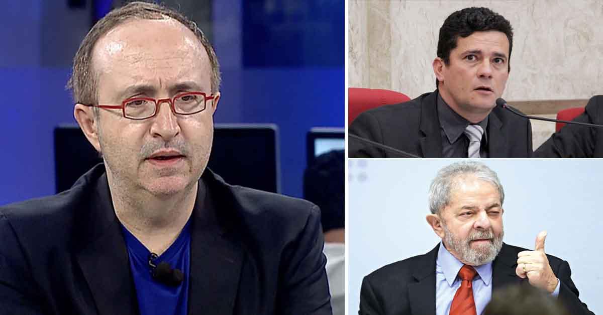 Jornalista de direita diz que se Lula for condenado, Justiça vira hospício