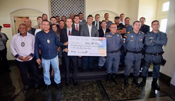 SÃO LUÍS/MA – Policiais militares e civis recebem R$ 20 mil em prêmio por trabalho prestado no combate ao crime